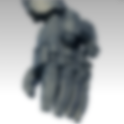 Descargar Modelos 3D para imprimir gratis Puño de poder para un dios de la máquina, jimsbeanz