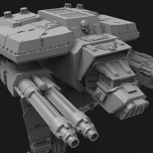untitled.154.jpg Télécharger fichier STL gratuit Lucius Wardog Titan • Plan pour imprimante 3D, jimsbeanz