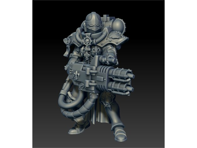 2c088039a2418086a44fd5704d82cbbc_preview_featured.jpg Download free STL file Flame thrower lady of war • 3D printer model, jimsbeanz