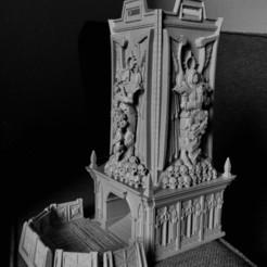 Descargar archivos 3D gratis Fortaleza de Martillo de Guerra de la Torre de Dados de Sacrificio, jimsbeanz