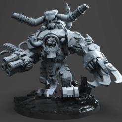 Descargar Modelos 3D para imprimir gratis Sr. Gran Señor de la Guerra de los Orcos de Dakka, jimsbeanz