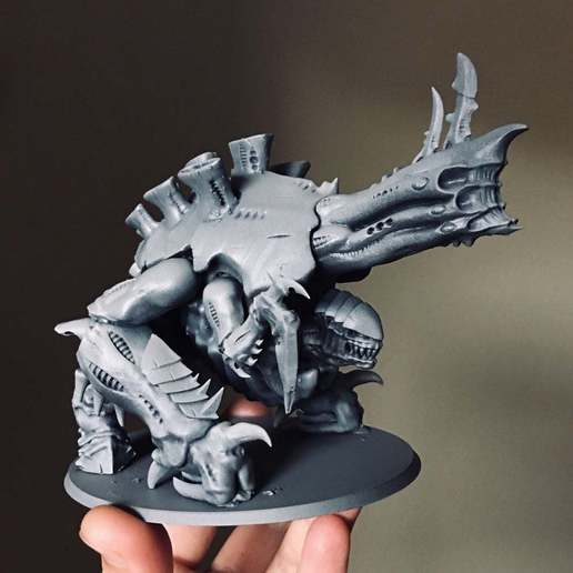 Télécharger fichier imprimante 3D gratuit LANCEUR DE PLASMA XENO TYRAN, jimsbeanz