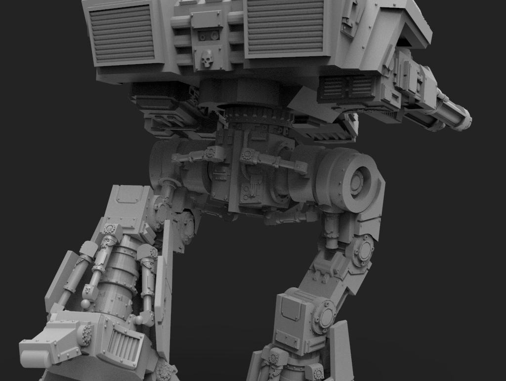 untitled.156.jpg Télécharger fichier STL gratuit Lucius Wardog Titan • Plan pour imprimante 3D, jimsbeanz