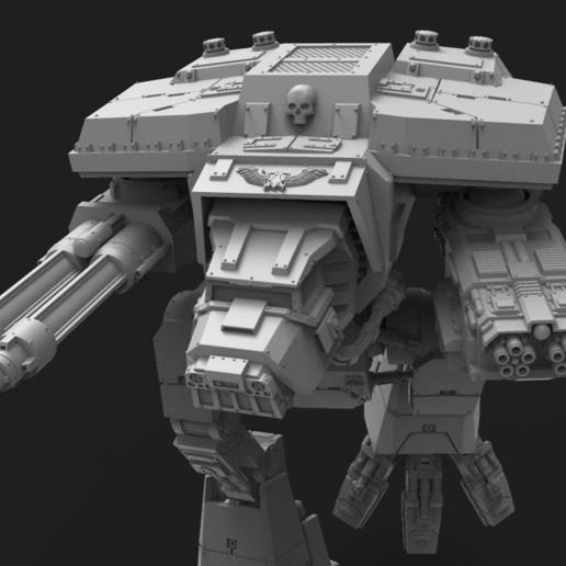 untitled.164.jpg Télécharger fichier STL gratuit Lucius Wardog Titan • Plan pour imprimante 3D, jimsbeanz