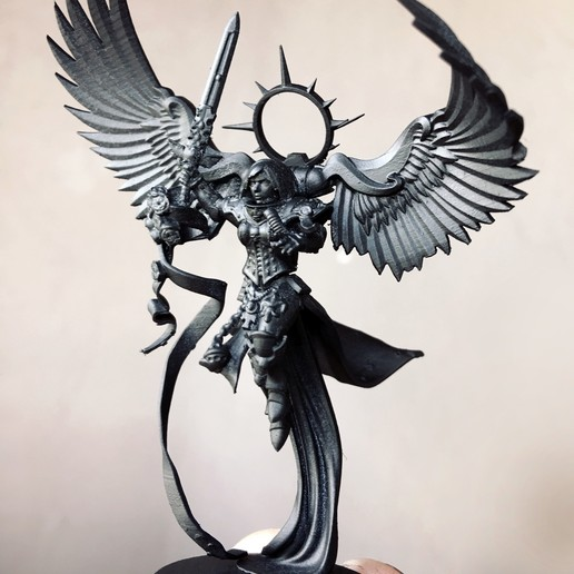 Descargar archivos 3D gratis Santo eterno con alas, jimsbeanz