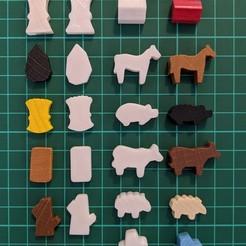 Descargar diseños 3D gratis El tablero de juego de Agricola se reúne, Anthosch