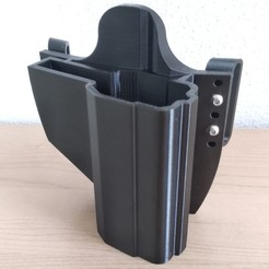 IMG_20200501_164101.jpg Download STL file Holster for CZ 75 D compact • 3D print model, cvilinan