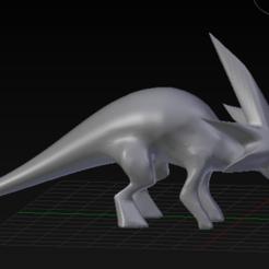 Descargar STL Estiracosaurio, geekyraptorstudios