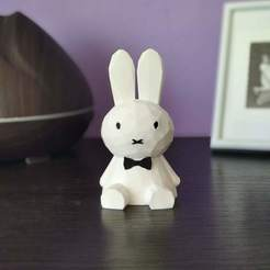 IMG_20200810_100840.jpg Download STL file Polygon Bunny • 3D print model, sparki0007