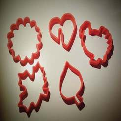 Download free STL file Autumn gingerbread  cookie cutter. • 3D printer template, sparki0007