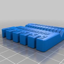 Download free 3D printing designs metric meter, huchaji
