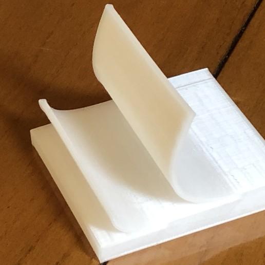 Download free 3D printer files Post It Support de Téléphone - Stand Phone, Heliox