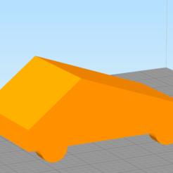 Télécharger objet 3D gratuit Tesla cybertruck low poly, ffff9