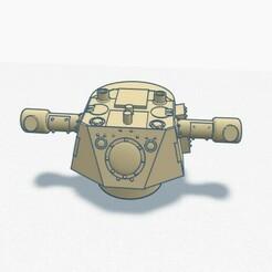 KDO1.jpg Download STL file radar turret KDO mod.40 1/72 • 3D printing object, chriss3dprint