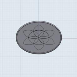 IMG_0316.PNG Télécharger fichier STL Dessous de verre à fleurs • Design à imprimer en 3D, Learn3Dprinting