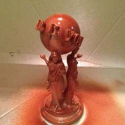 Download STL Tony Montana 'Scarface' sculpture, akoustikmusic
