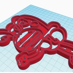 Descargar archivo STL Mariposa de la gallina pintadita cookie cutter • Plan de la impresora 3D, nicografic27