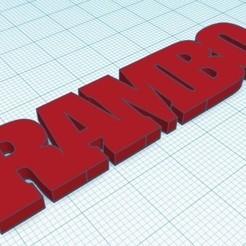 Descargar archivos 3D RAMBO 5 ULTIMATE  KEY CHAIN, nicografic27