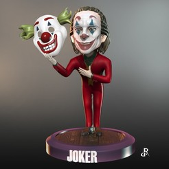 Download STL JOKER, Daniel_Rodas