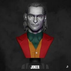 Render_Joaquín_Phoenix_2.jpg Télécharger fichier STL JOKER • Plan à imprimer en 3D, Daniel_Rodas