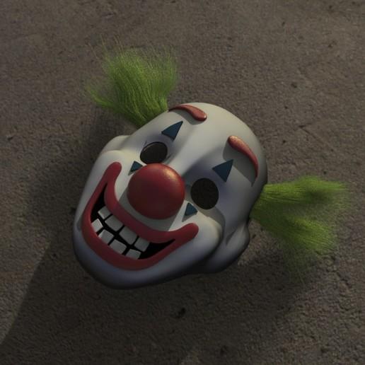 Descargar archivos STL Máscara Joker, Daniel_Rodas