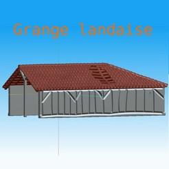 Télécharger fichier STL Grange landaise • Design pour imprimante 3D, LaForge3D