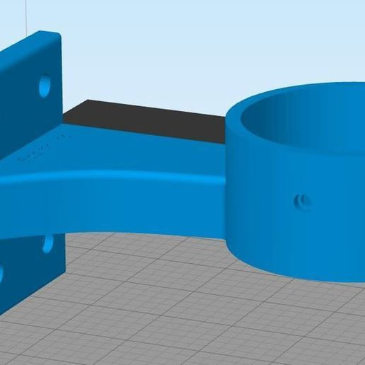 v2.JPG Télécharger fichier STL support bobine imprimante 3d box diamètre 70mm / support bobine imprimante 3d box diamètre 70mm • Design à imprimer en 3D, Spelth