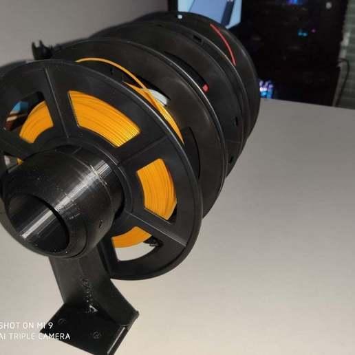 67444765_334335434120604_5302107693501120512_n.jpg Télécharger fichier STL support bobine imprimante 3d box diamètre 70mm / support bobine imprimante 3d box diamètre 70mm • Design à imprimer en 3D, Spelth