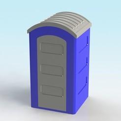 Descargar modelo 3D gratis Inodoro portátil a escala 1:32, Shane54