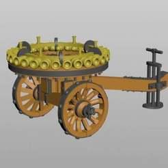 Nartov_mortar.jpg Télécharger fichier STL gratuit Le mortier multi-barils Nartov • Modèle imprimable en 3D, MaksimV13