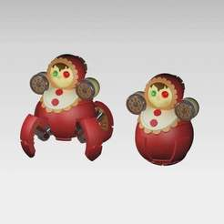 Roly_Poly_Robot.jpg Download free STL file Russian (soviet) Roly-Poly-Drones • 3D printable model, MaksimV13