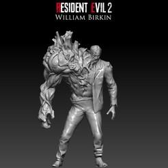 01-.jpg Download STL file Resident Evil 2 William Birkin 3D print model • 3D print object, pablovalentincarrizo