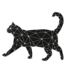 chat.png Download STL file cynical cat • 3D printable model, momo57350