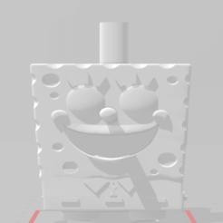 bo.png Download free STL file Sponge Bod Mouthpiece • Model to 3D print, Pistacho