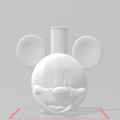 mi.png Télécharger fichier STL gratuit Embout de Mickey Mouse • Modèle pour impression 3D, Pistacho