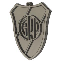 Télécharger fichier impression 3D Porte-clés/ Porte-clés River Plate, tischlercristian
