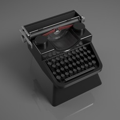 Download 3D model Typewritter Cherry MX custom Keycap 3D print model, phunguyen