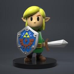 Télécharger objet 3D Lien La légende de Zelda Firgure, phunguyen