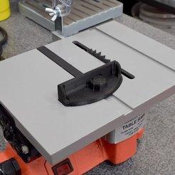 Download free 3D printer designs Mighty Mite Miter Guage, TikiLuke