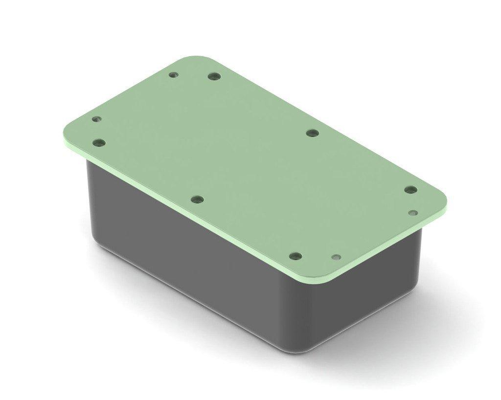 4eadc35a87ca91f9f603b26b1e6e8e47_display_large.JPG Télécharger fichier STL gratuit Boîtier électronique avec languettes de montage • Objet pour impression 3D, TikiLuke