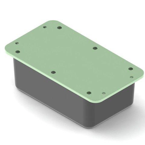 Télécharger plan imprimante 3D gatuit Boîtier électronique avec languettes de montage, TikiLuke