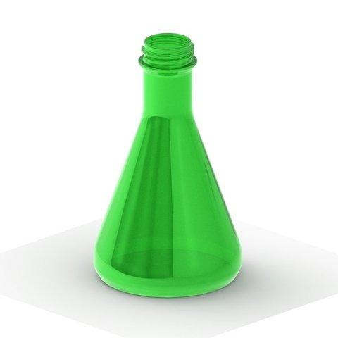 Descargar Modelos 3D para imprimir gratis Frasco con roscas para botellas de refrescos, TikiLuke