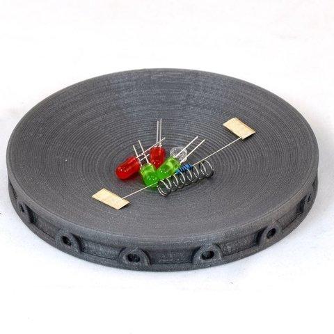Télécharger plan imprimante 3D gatuit Plateau à pièces, non magnétique, TikiLuke