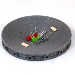 Descargar archivos 3D gratis Bandeja de piezas, no magnética, TikiLuke