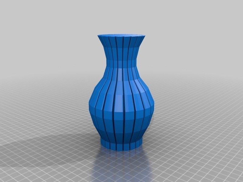 438defa12fff09294d3c6eb9adc15f62_display_large.jpg Download free STL file FlexiVase • 3D printable model, DK7