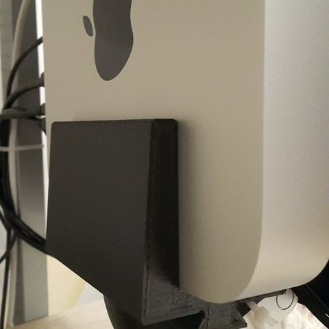 Download free 3D printing files MAC Mini stand for DELL monitor (no VESA mount), DK7