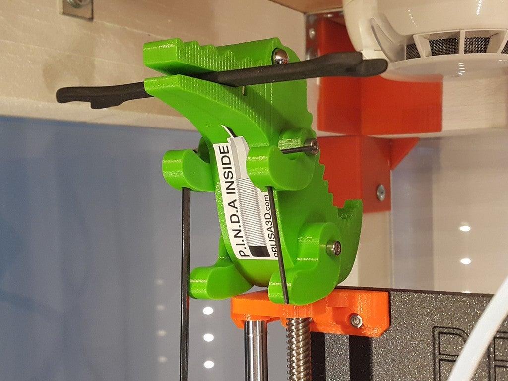 6e69bf3544bda01195404b1de6ffad3b_display_large.jpg Télécharger fichier STL gratuit Crocodile Prusa Edition Crocodile • Objet à imprimer en 3D, DK7
