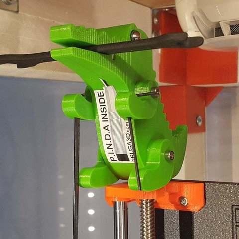 Download free 3D printer designs Crocodile Prusa Edition, DK7