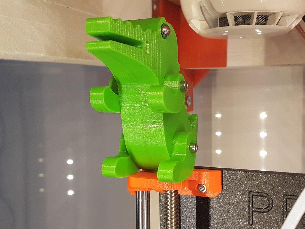 24137050e4d62aa8d24d5ff108806bfb_display_large.jpg Télécharger fichier STL gratuit Crocodile Prusa Edition Crocodile • Objet à imprimer en 3D, DK7
