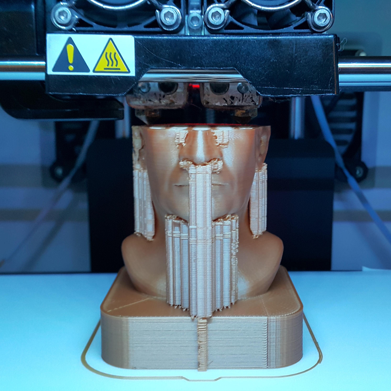 Print1.jpg Download STL file Louis Germain David de Funès de Galarza • Template to 3D print, DK7